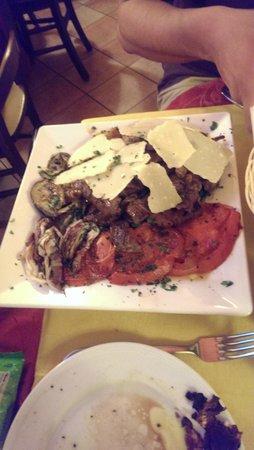 Il Leone Rosso Ristorante Pizzeria: Huge steak dish