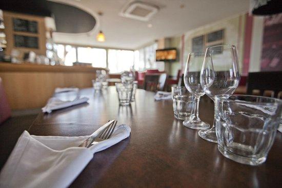 La Trouvaille : la salle de restaurant