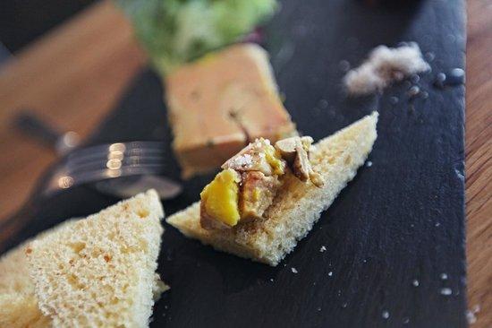 La Trouvaille : Foie gras...