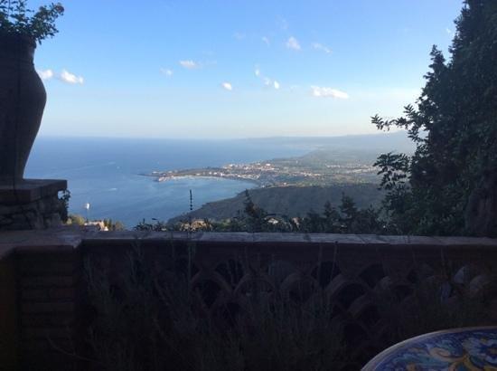 Hotel Villa Ducale: vista dal terrazzo della camera 33