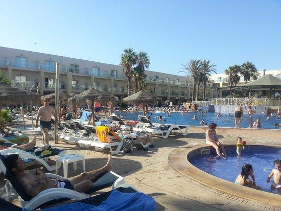 Cabogata Garden Hotel & Spa : pool area