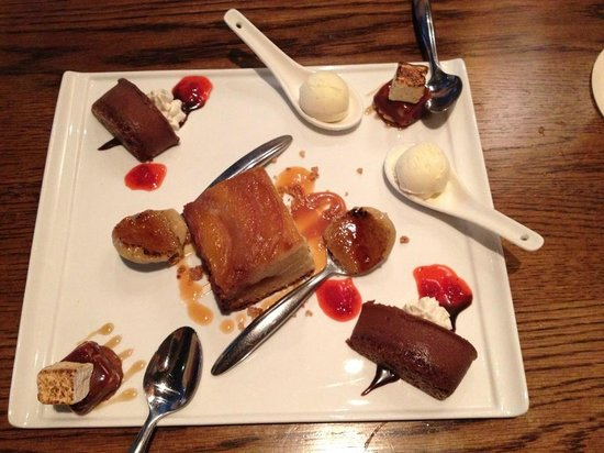 Burwell's Stone Fire Grill: The sweetest sweets ever!!
