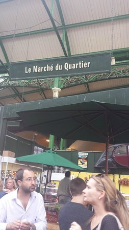 Borough Market: french stall