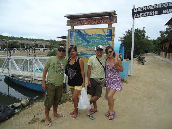 Los Manglares de Puerto Pizarro: Entrada a los manglares