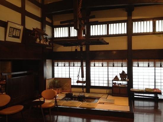 Ryokan Asunaro: la salle d'entrée de l'hôtel