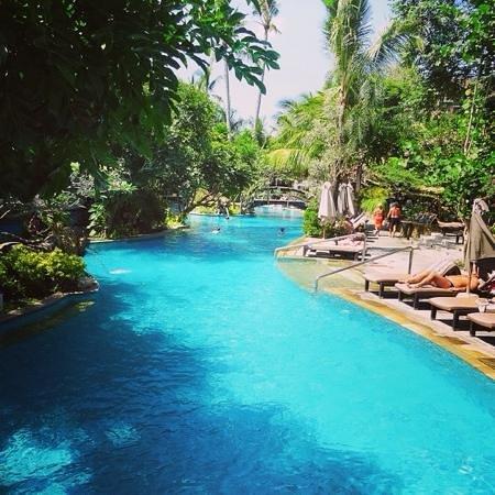 Padma Resort Legian : 緑豊かなリゾートホテル