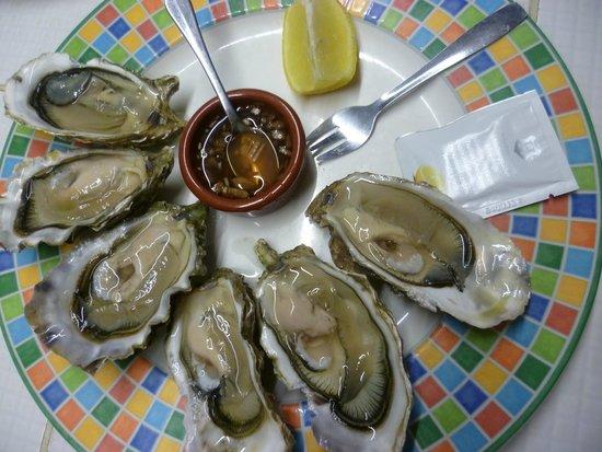 Que du Bonheur : Assiettes d'huîtres de concarneau