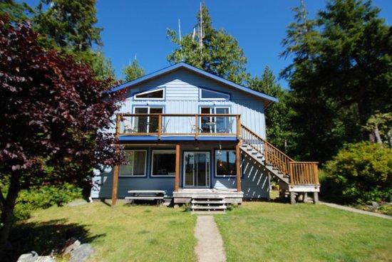 Blue Bear Bed and Breakfast : la casa