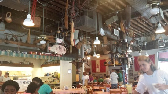 Big Ed's City Market Restaurant : All the kitsch!