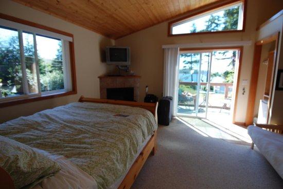 Blue Bear Bed and Breakfast : la stanza