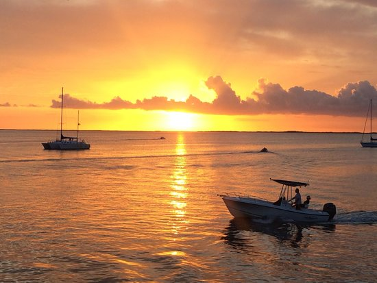 Island Time Cruises: Beautiful sunset