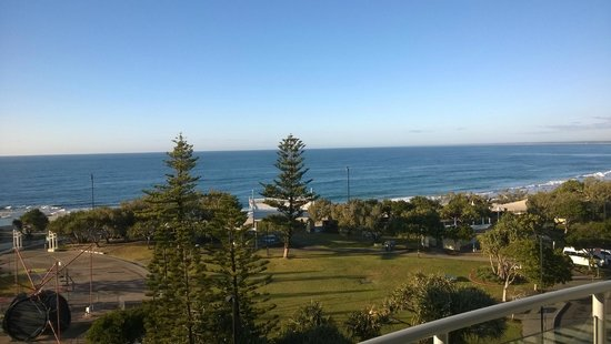 Kings Beach, Australie : View out lounge room window