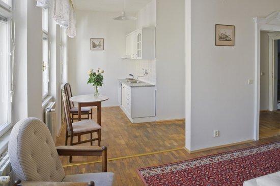 EA  Esplanade Apartments: Kuchyně