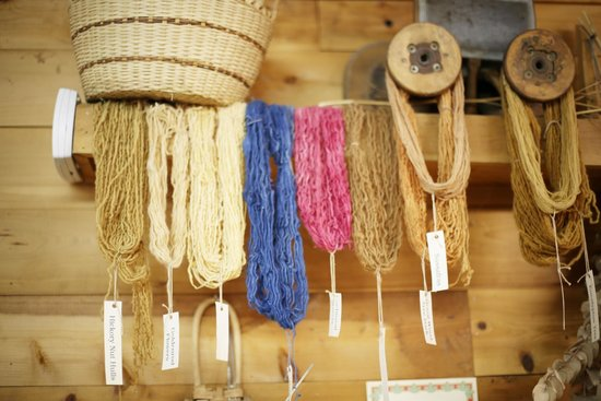 Poplar Grove Plantation: Weaving Studio