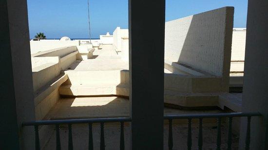 Hasdrubal Thalassa & Spa Djerba : vue de la terrasse pas top