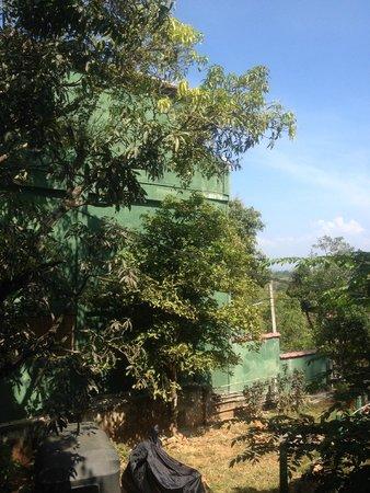 "Hotel Mango Garden : Вид из ""ресторана"""
