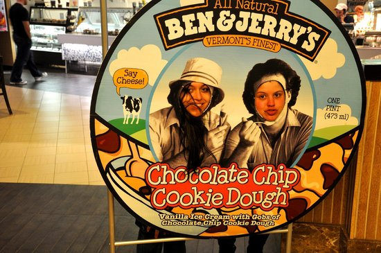 Harrah's Resort Atlantic City: Ben e Jerrys na praça de alimentação do hotel