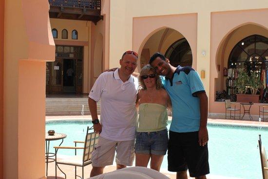 Steigenberger Coraya Beach : Mahmoud - Our Great Thompson Rep
