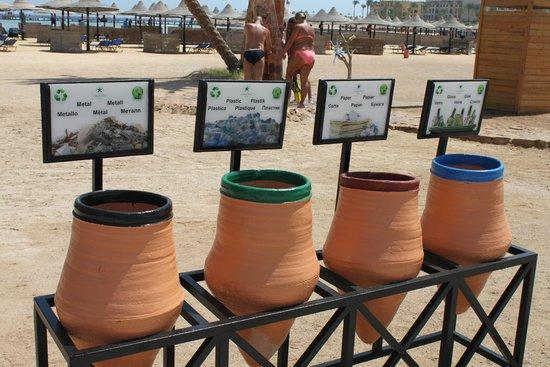 Steigenberger Coraya Beach: Recycling