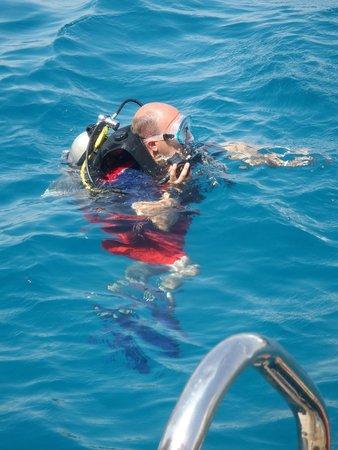 Steigenberger Coraya Beach: 1st Diving with Colona