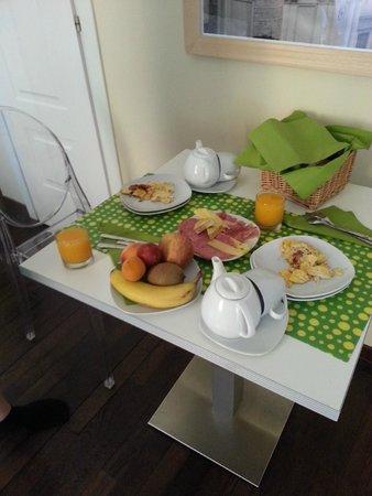 Best Sistine B&B : Morgenmaden