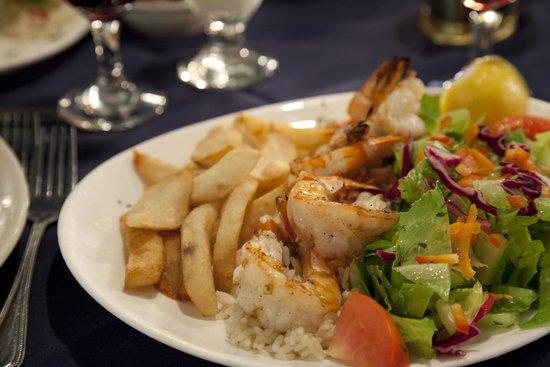 Molivos: Shrimp Plate