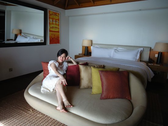 Anantara Veli Maldives Resort : Comfortable room, clean, neat, quiet and relaxing
