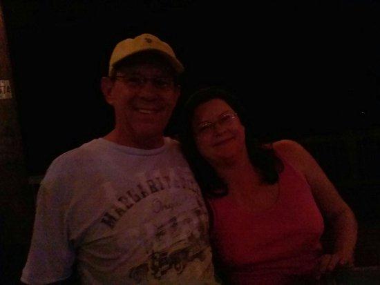 Zeppelin's Pizzeria & Bar: Paul & Sheryl