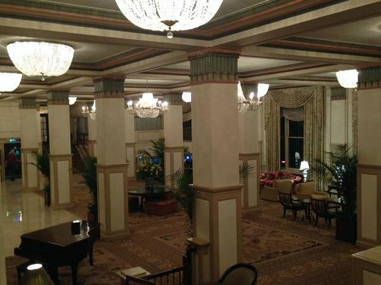 Lobby of Francis Marion Hotel