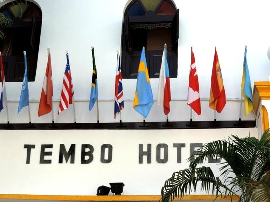 "Tembo House  Hotel & Apartments: ""Визитка"" отеля"