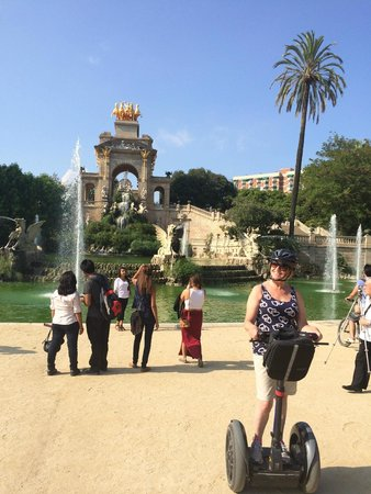Barcelona Segway Glides: One of the sights