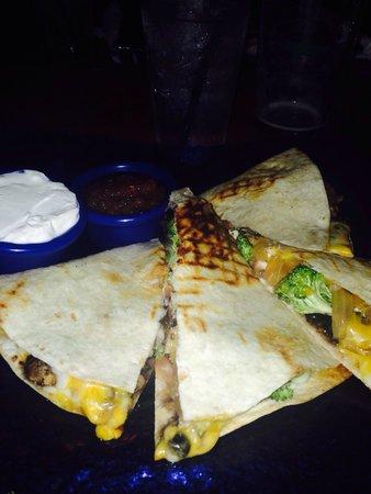 The Well: Veggie quesadilla