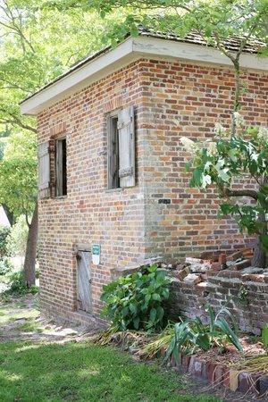 Poplar Grove Plantation: Backside of Kitchen