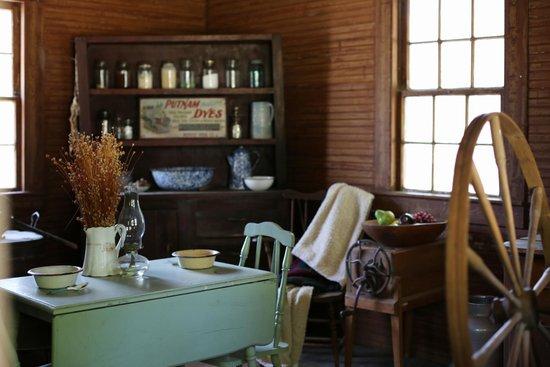Poplar Grove Plantation: Interior Shot Tenant House