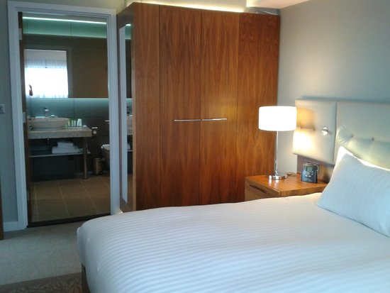 DoubleTree by Hilton Lincoln: large cupboard enough room for family of 4