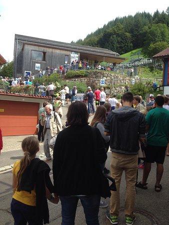 Hasenhorn Coaster Todtnau : Ground level queue
