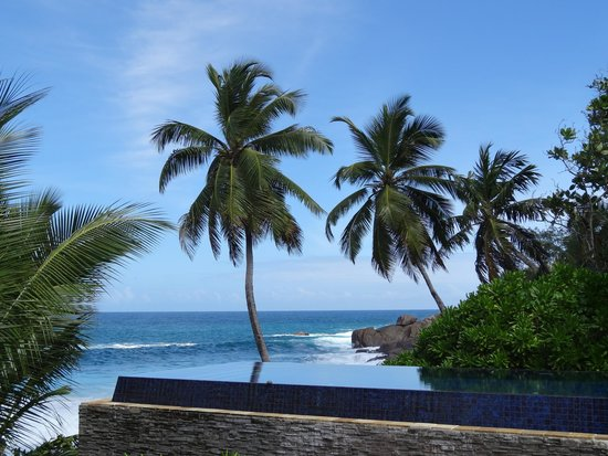 Banyan Tree Seychelles : Piscine