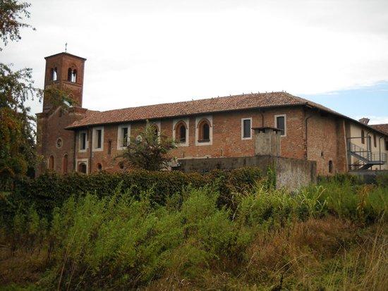 Abbazia di Mirasole: vista lato nord