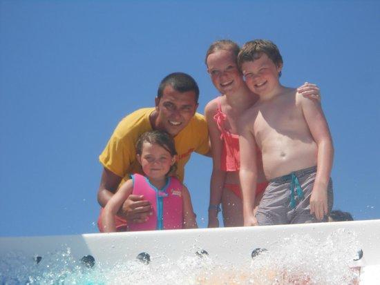 Aquis Sandy Beach Resort: Billy The Life Guard