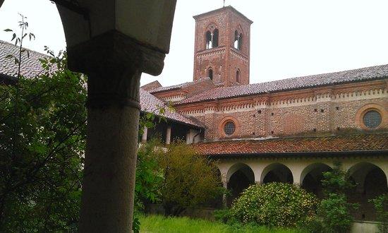 Abbazia di Mirasole: il campanile