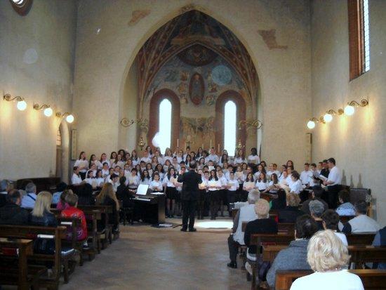 Abbazia di Mirasole: concerto in chiesa abbaziale