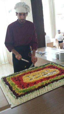 Hotel Tabor: La torta della domenica.  Deliziosa