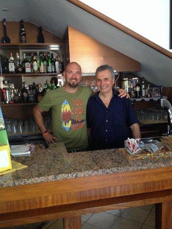 H. Europa : Marco, Franco e il suo ottimo caffe'!!