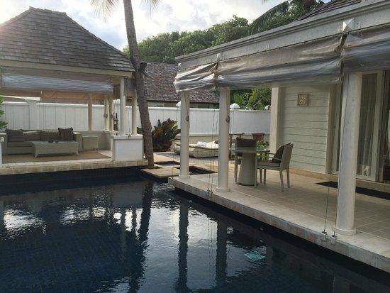 Banyan Tree Seychelles : Vila beach front