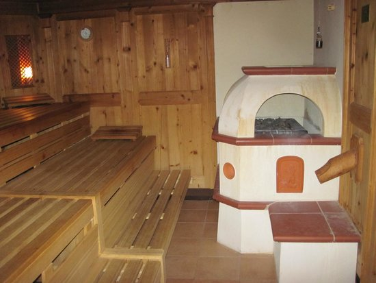 Leading Family Hotel & Resort Alpenrose: Sauna