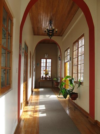 Don Bosco Hotel: Corredor dos quartos