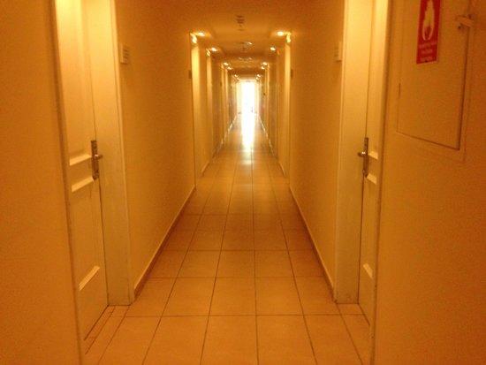 Filoxenia: Corridor to rooms