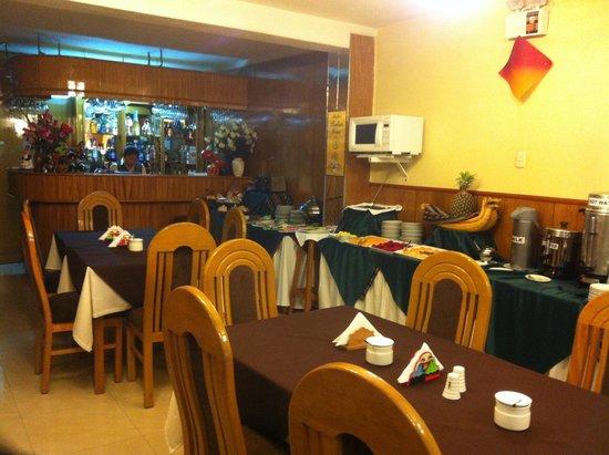 Hotel Balsa: ресторан