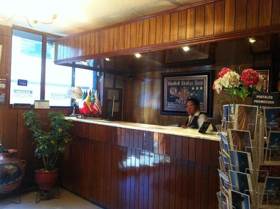 Hotel Balsa: Reception