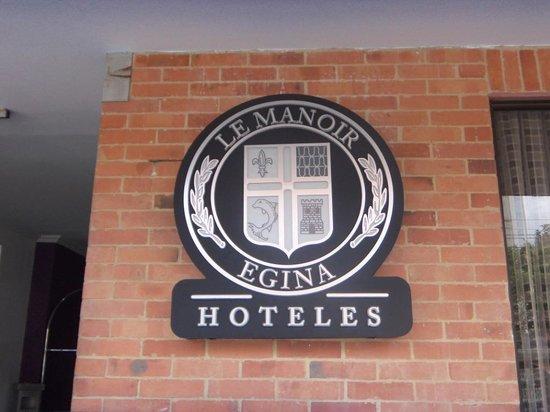 Hotel Egina Bogota En La Fachada
